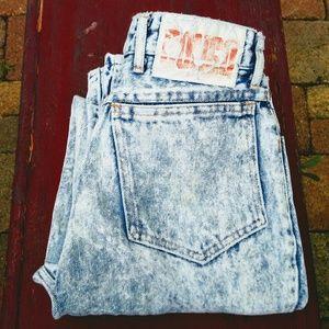 1980's Bongo stone Wash Jeans